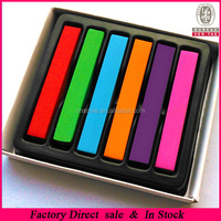 2014 TV Hot selling 6 color hair chalk hair dye HCP-065