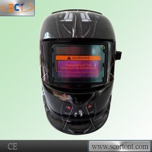CE approved High Impact Resistant Shell auto darkening EN175F flip up welding mask ce