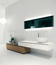 led mirrors, bathroom smart mirrors, bathroom mirrors for hotel project