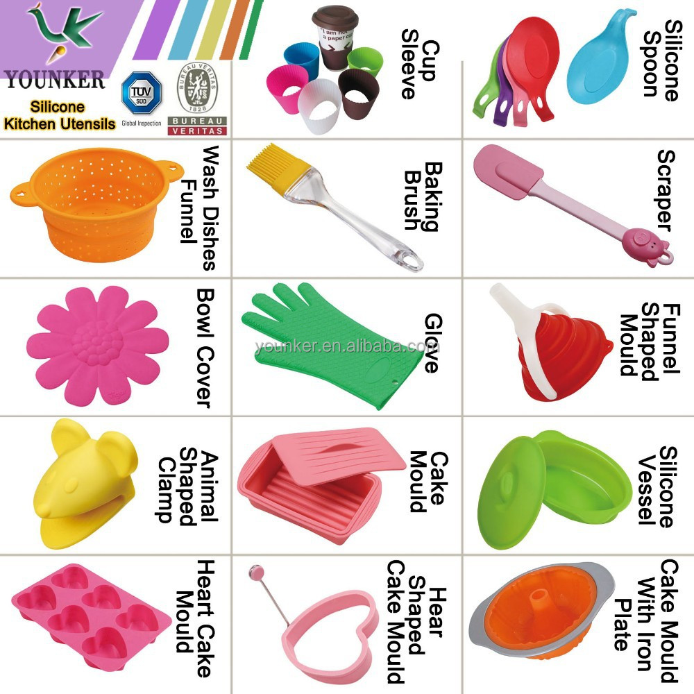 Silicone Baking Utensils 36