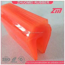 PU material long leg square top screen capping rubber