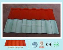 flat concrete roof tile