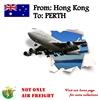 Air Freight From HONG KONG To AUSTRALIA PERTH Shipping