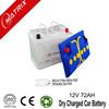 Best Price 12V 72ah Lead Acid Dry Car Batteries