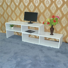China manufacture cost white lacque solid wood Tv stand living room furniture