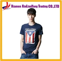 Fashion 100% Cotton Cheap Men's Custom Printed T-shirt