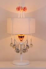 Dubai royal style modern crystal Artistic Romantic table lamp
