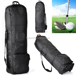 New Outdoor Club Golf Bag Travel Cover Foldable Portable Golf Cart Bag With Wheels