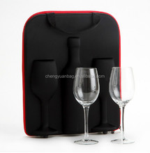 Hot selling High Quality and Popular Eva Wine carrying Case