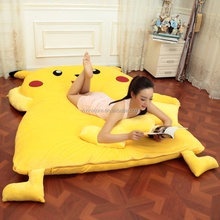 cute animal style Big size floor bed sofa