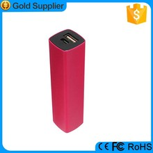 customised logo mini travel portable lipstick spice mobile battery for samsung galaxy