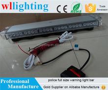 56 Leds mini light bar beacon light emergency warning flash light with magnetic legs