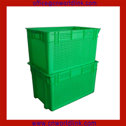 Nestable & Stackable 50kgs Fruit and Vegetable PE Fruit Basket