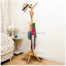 bamboo hat and coat rack stands, clothes tree hanger coat rack, home decor furniture wholesale