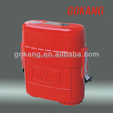 45 minutes duration compressed oxygen self rescuer,Compressed Air Breathing Escape apparatus