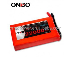 ONBO High capacity 22000mAh 6S 22.2V DJI S900 S1000 lipo pack Octocopter hexacopter Drones UAVs Lipo Akku battery