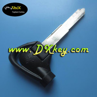 Hot sellling car key blank with left blade for motocycle key shell motorcycle key case