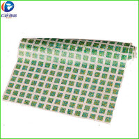 upper shoes decoration plastic mesh with green and white stones