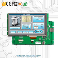 cheap touch screen monitor 5.0 inch TFT LCD module RS485 control panel