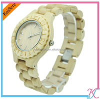 Eco-friendly customized designs natural wood watches