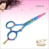 5.5 inch 440c stainless steel tattoos of hair scissors