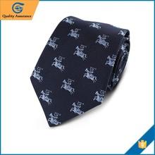 Chunhe custom fashion novel jacquard woven 100% silk men's neck tie