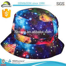 galaxy cheap bucket hat/cap tie dyed bucket hat caps and bucket hat