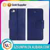 double sided right open leather with window cover case for iphone 5
