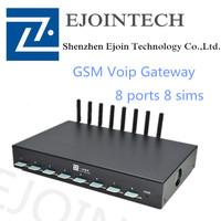 Efficient Delivery!Ejointech ACOM508pro 8 ports 8 sims gsm goip gateway gsm goip 8 ports sms gateway ussd gateway.