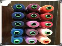2015 Real Limited Dyed Knitting Yarn Wool Yarn Linhas De Bordado Ponto Cruz Supply 50s/ 2 Polyester Sewing Thread High Quality