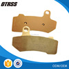 High performance Sintered motorcycle brake pads motorcycle parts