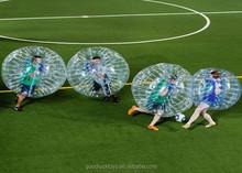 loopy ball inflatable human body bubble kids bumper bubble football mini soccer goal set