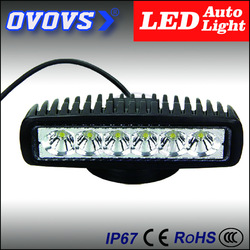 factory price 12V led car light 18W Off road roof lights For Truck