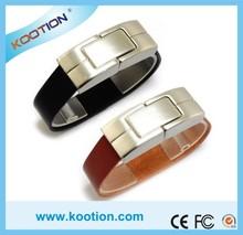 128GB Wrist Watch Shape USB Flash Drive ,Material Leather