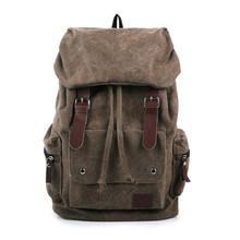 New 2015 Fashion Vintage men's backpacks Patchwork Vintage bag Canvas Shoulder bags Backpack schoolbag travel bags mochila