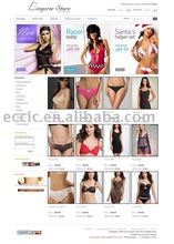 Custom Lingerie Ecommerce Website Development