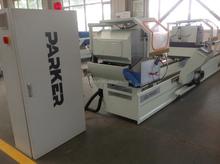 PVC Section Double Saw Cutting Machine / UPVC Profile Double Saw CNC Cutting Machine