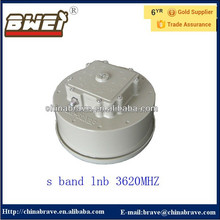 S band lnbf 3620mhz for SES-7 satellite hdtv smart tv lnb s band