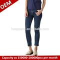 Rhr senhora denim de alta- de cintura da calça, jeans fabricantes china/pode ser personalizado de todos os tipos de jeans