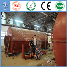 tyre crude oil fractional distillation with 95% oil output