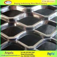 price of Expanded Metal/Powder Coated Expanded Metal Mesh /Aluminum expanded mesh sheet