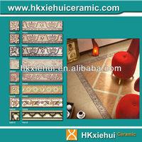 different design ceramic skirting tile and border tile