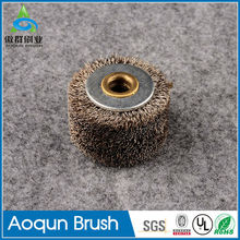 Factory outlets wire brushes inside pipe zipper