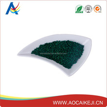 Professional High Quality Plastic Dark Green Masterbatch for Household / Films/ Fibre