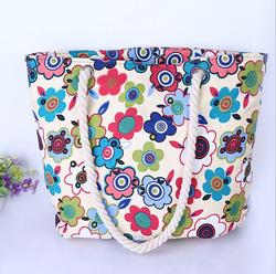 recyclable shopping cotton bag wholesaler tote bag full color printing tote bag