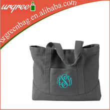 Monogrammed Tote Bag Personalized Canvas Bag