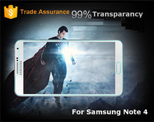 Super Slim Anti-shock Tempered Glass Screen Protector For Samsung Note 4