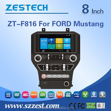 car radio with sim card for FORD Mustang car dvd player multimedia