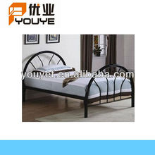 Simple style bedroom beautiful metal single bed with high quality
