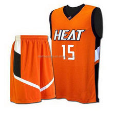Durable unique fitness basketball wear/uniform